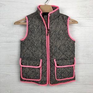 J Crew Crew Cuts Girls' Printed Puffer Vest